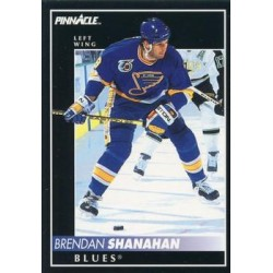 1992-93 Pinnacle c. 114 Brendan Shanahan STL