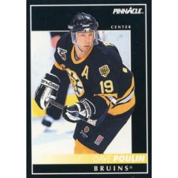 1992-93 Pinnacle c. 116 Dave Poulin BOS