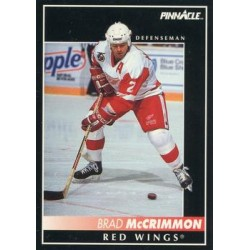 1992-93 Pinnacle c. 124 Brad McCrimmon DET