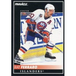 1992-93 Pinnacle c. 154 Ray Ferraro NYI