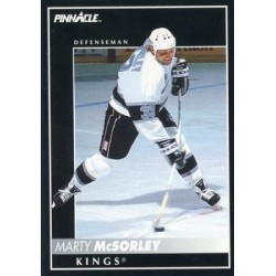 1992-93 Pinnacle c. 156 Marty McSorley LAK