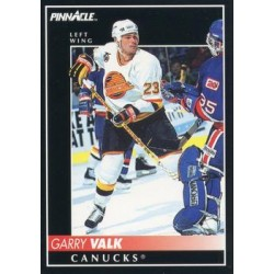1992-93 Pinnacle c. 181 Garry Valk VAN