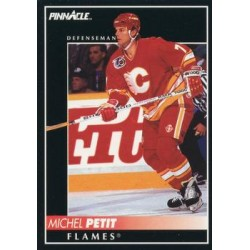 1992-93 Pinnacle c. 206 Michel Petit CGY