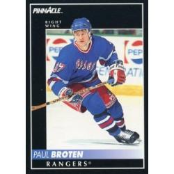 1992-93 Pinnacle c. 212 Paul Broten NYR