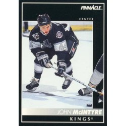 1992-93 Pinnacle c. 214 John McIntyre LAK