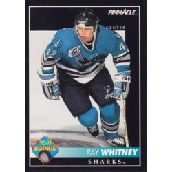 1992-93 Pinnacle c. 227 Ray Whitney RC SJS
