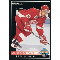 1992-93 Pinnacle c. 230 Slava Kozlov DET