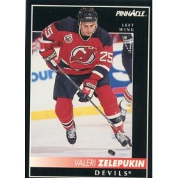 1992-93 Pinnacle c. 286 Valeri Zelepukin NJD