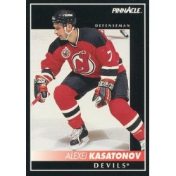 1992-93 Pinnacle c. 289 Alexei Kasatonov NJD