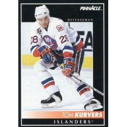 1992-93 Pinnacle c. 324 Tom Kurvers NYI