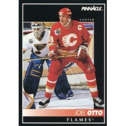 1992-93 Pinnacle c. 328 Joel Otto CGY