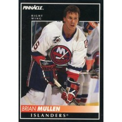 1992-93 Pinnacle c. 333 Brian Mullen NYI