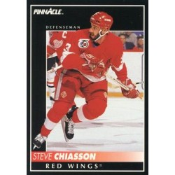 1992-93 Pinnacle c. 339 Steve Chiasson DET