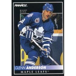 1992-93 Pinnacle c. 355 Glenn Anderson TOR