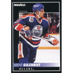 1992-93 Pinnacle c. 357 Brent Gilchrist EDM