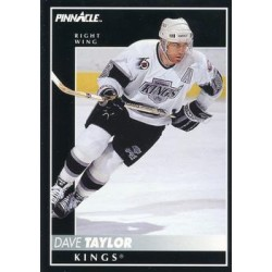 1992-93 Pinnacle c. 367 Dave Taylor LAK