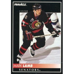 1992-93 Pinnacle c. 374 Mark Lamb OTT