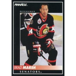 1992-93 Pinnacle c. 378 Brad Marsh OTT
