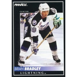 1992-93 Pinnacle c. 387 Brian Bradley TBL