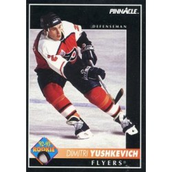 1992-93 Pinnacle c. 394 Dimitri Yushkevich RC PHI