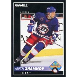 1992-93 Pinnacle c. 416 Alexei Zhamnov WIN