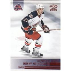 2004-05 Pacific c. 077 Manny Malhotra CBS