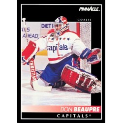 1992-93 Pinnacle c. 048 Don Beaupre WSH