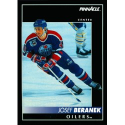 1992-93 Pinnacle c. 208 Josef Beranek EDM