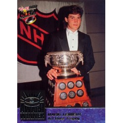 1992-93 Fleer Ultra Award Winner c. 05of10 Mario Lemieux PIT