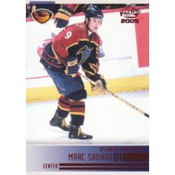 2004-05 Pacific Red c. 017 Marc Savard ATL