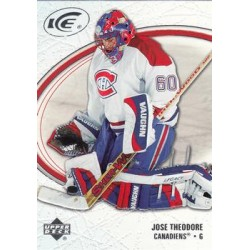 2005-06 UD Ice c. 049 Jose Theodore MON