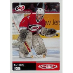 2002-03 Topps Total c. 083 Arturs Irbe CAR