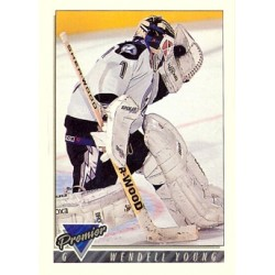 1993-94 Topps Premier c. 166 Wendell Young TBL