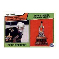 1983-84 O-Pee-Chee [Trophy Winner] c. 209 Pete Peeters BOS