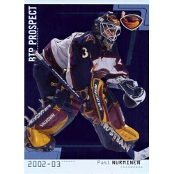 2002-03 Between the Pipes c. 094 Pasi Nurminen ATL