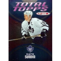 2002-03 Topps Total Total Topps c. TT06 Mats Sundin TOR