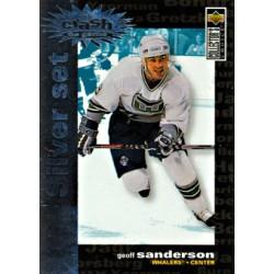 1995-96 Upper Deck Collectors Choice Crash the Game Silver Set c. C22 Geoff Sanderson HFD