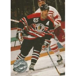 1991-92 Pro Set Platinum c. 025 Chris Chelios CHI