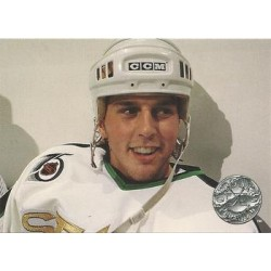 1991-92 Pro Set Platinum c. 055 Mike Modano MNS