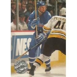 1991-92 Pro Set Platinum c. 101 Owen Nolan QUE
