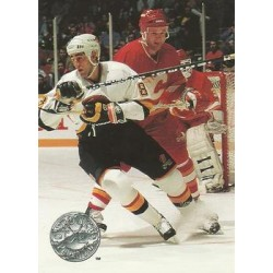 1991-92 Pro Set Platinum c. 125 Greg Adams VAN