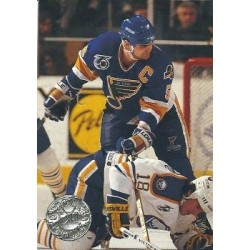 1991-92 Pro Set Platinum c. 223 Garth Butcher STL