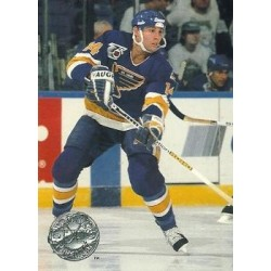 1991-92 Pro Set Platinum c. 224 Paul Cavallini STL