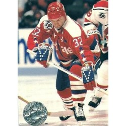 1991-92 Pro Set Platinum c. 245 Dale Hunter WSH