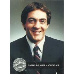 1991-92 Pro Set Platinum c. 298 Gaetan Boucher CC QUE