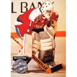 1991-92 Pro Set Platinum Collectibles c. PC16 Mike Liut WSH