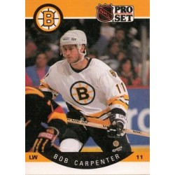 1990-91 Pro Set c. 004 Bob Carpenter BOS