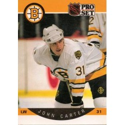 1990-91 Pro Set c. 005 John Carter BOS