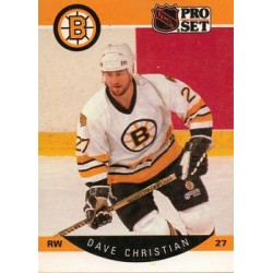1990-91 Pro Set c. 006 Dave Christian BOS