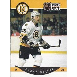 1990-91 Pro Set c. 007 Garry Galley BOS